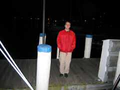 Michael, guard at Newport Yacht Club