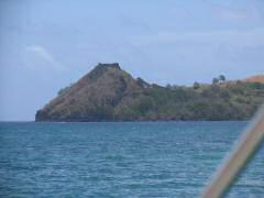 Fort at Pigeon Island