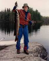 Ken with 18 lb. Northern Pike